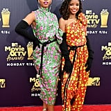 Chloe x Halle Wearing Marc Jacobs at the 2018 MTV Movie & TV Awards