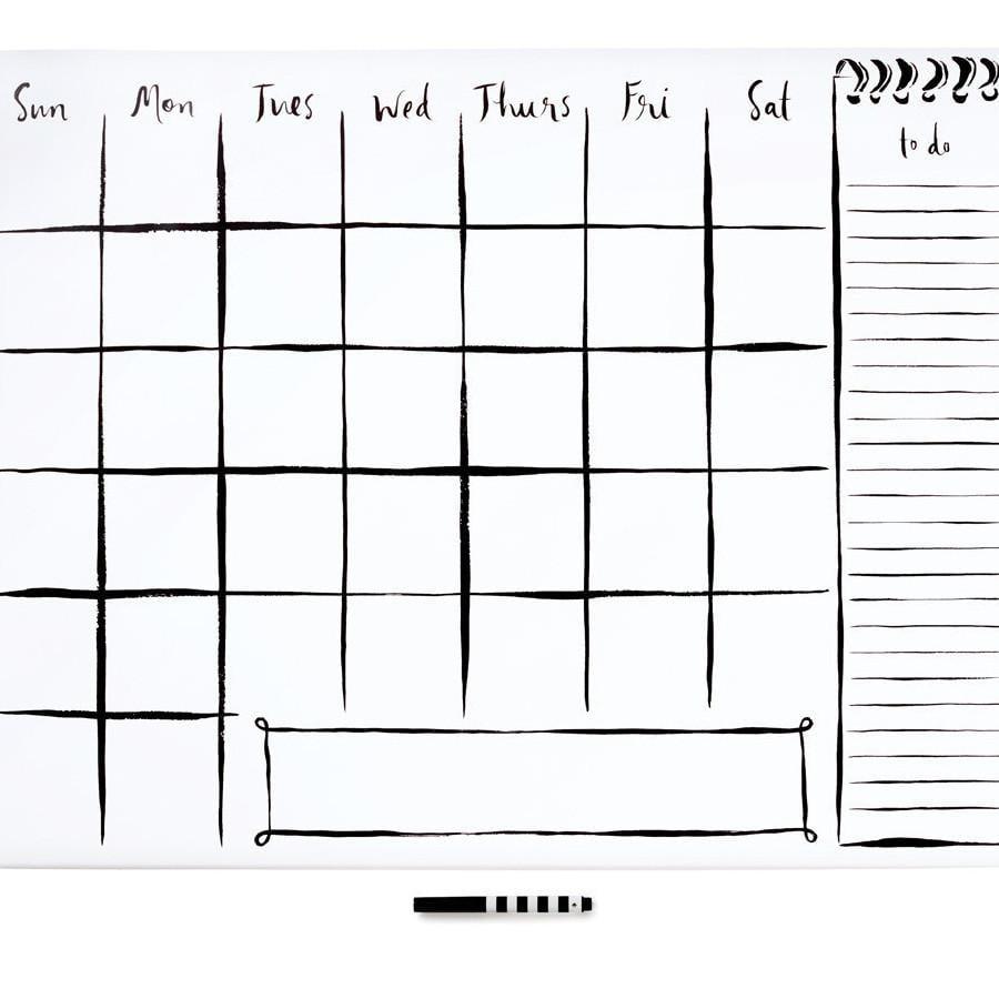 Kate Spade Wall Calendar Cubicle Decor Ideas Popsugar