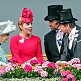 Peter Phillips enjoyed the 2018 Royal Ascot with his wife, Autumn, and his grandmother.