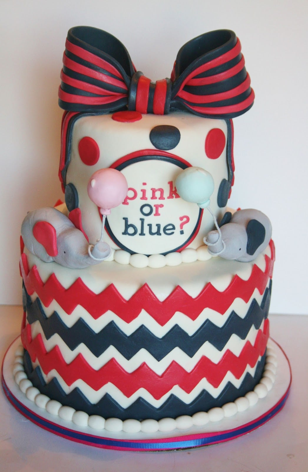 Pink, Blue, Navy, and Red