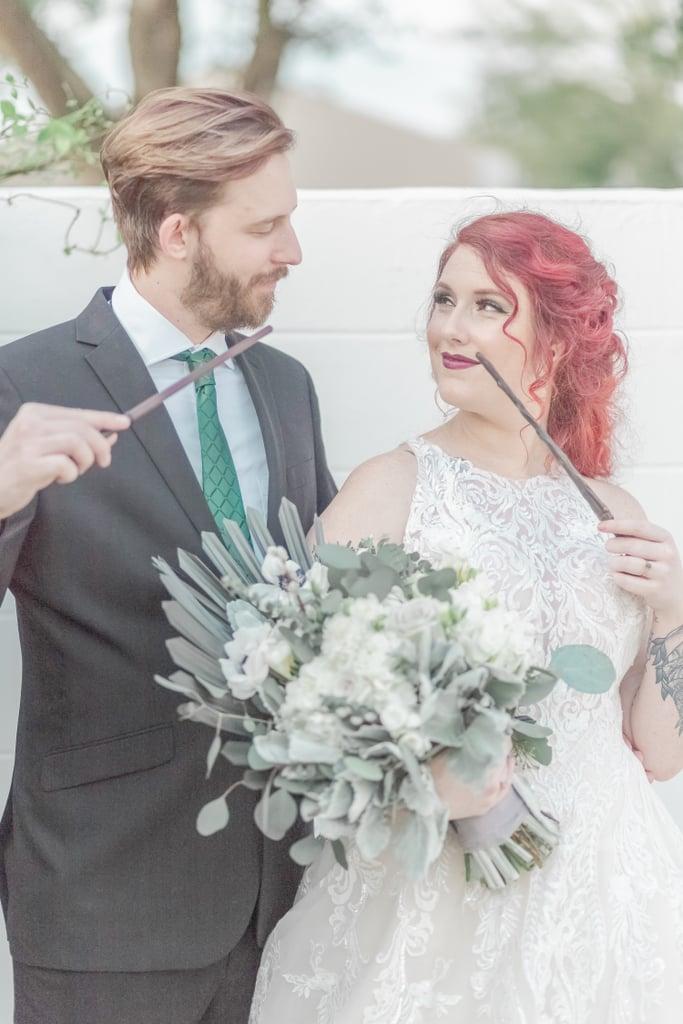 Slytherin Themed Wedding