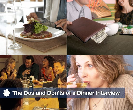 What to Do in a Dinner Interview