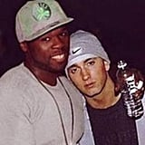 50 Cent shared a photo with his longtime friend Eminem. Source: Instagram user 50cent