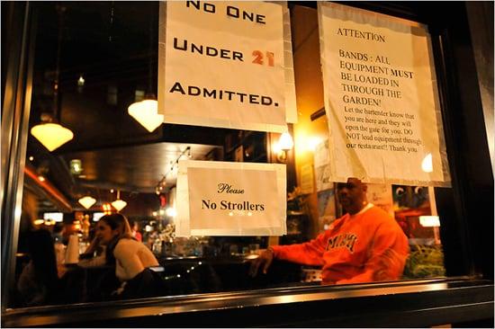 Bars Ban Strollers