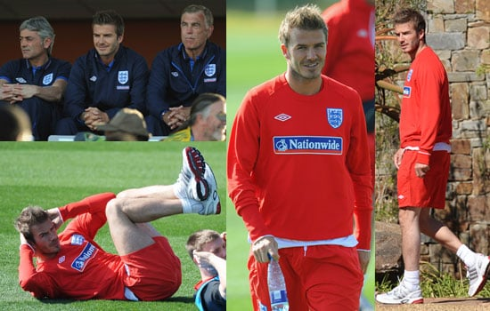 Pictures of David Beckham and England Squad in South Africa for World Cup Inc Steven Gerrard, Ashley Cole, Frank Lampard 2010-06-08 18:30:30