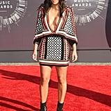 Kim Kardashian at the MTV VMAs in 2014