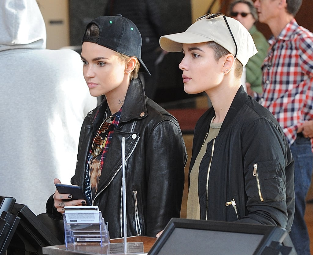 Ruby Rose And Halsey Movie Date Popsugar Celebrity