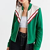 Urban Outfitters Piper Striped Track Jacket