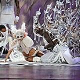 Photos From Lady Gaga's 2009 MTV VMAs Performance