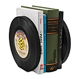 Recycled Record Bookends — Set of 2