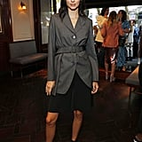 Kendall Jenner in London at a Dinner