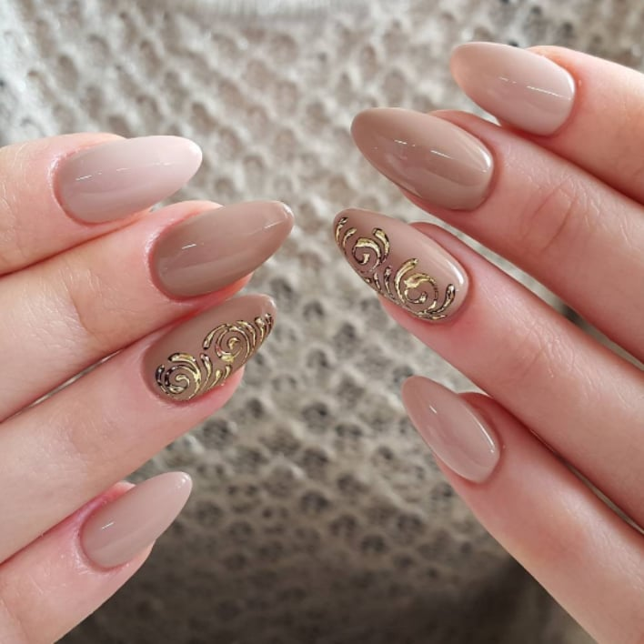 Nude Nail Art Ideas Popsugar Beauty