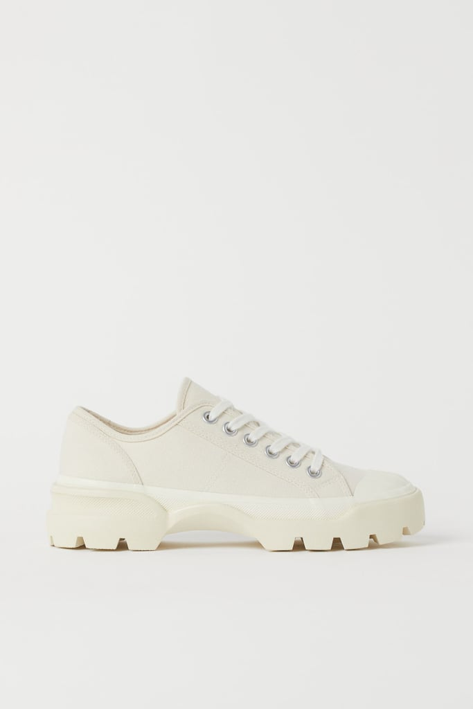 Chunky Canvas Sneakers