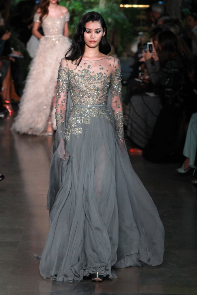 But Victoria's Secret Isn't Her Only Gig — She's Walked in Elie Saab