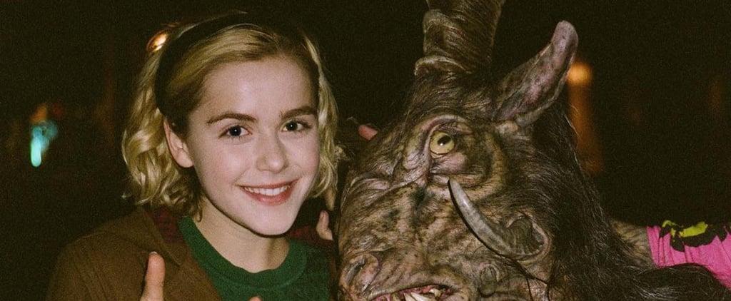 Chilling Adventures of Sabrina Cast on Social Media