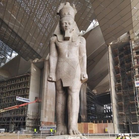اندلاع حريق في المتحف المصريّ الكبير
