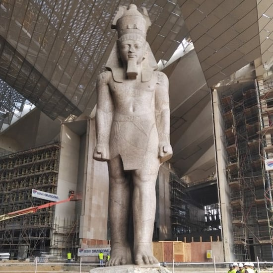 Fire at Grand Egyptian Museum