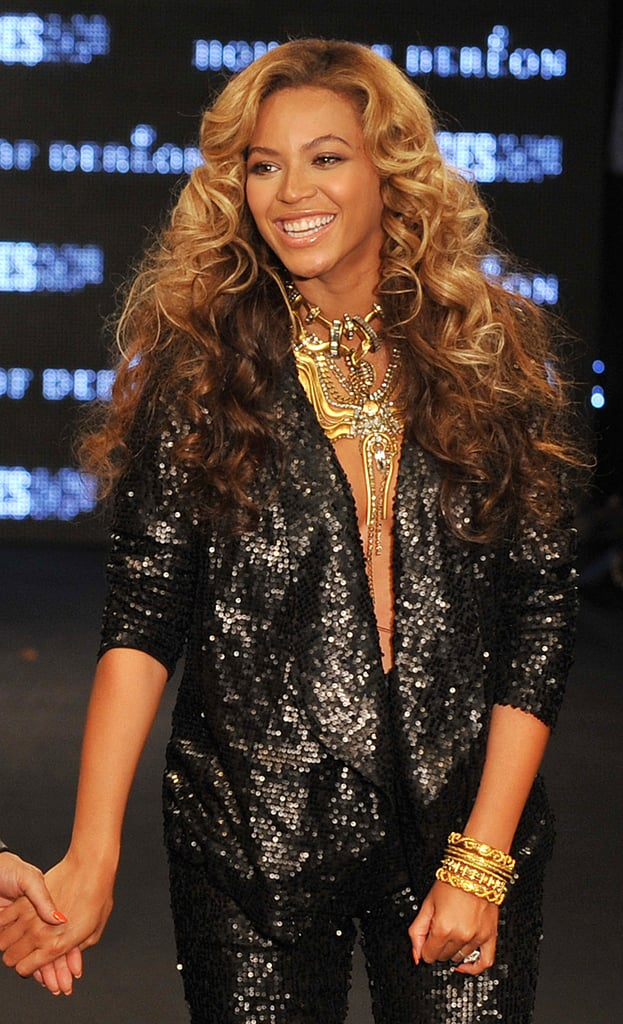 Beyoncé Steps Out in Sexy Sequins For House of Dereon