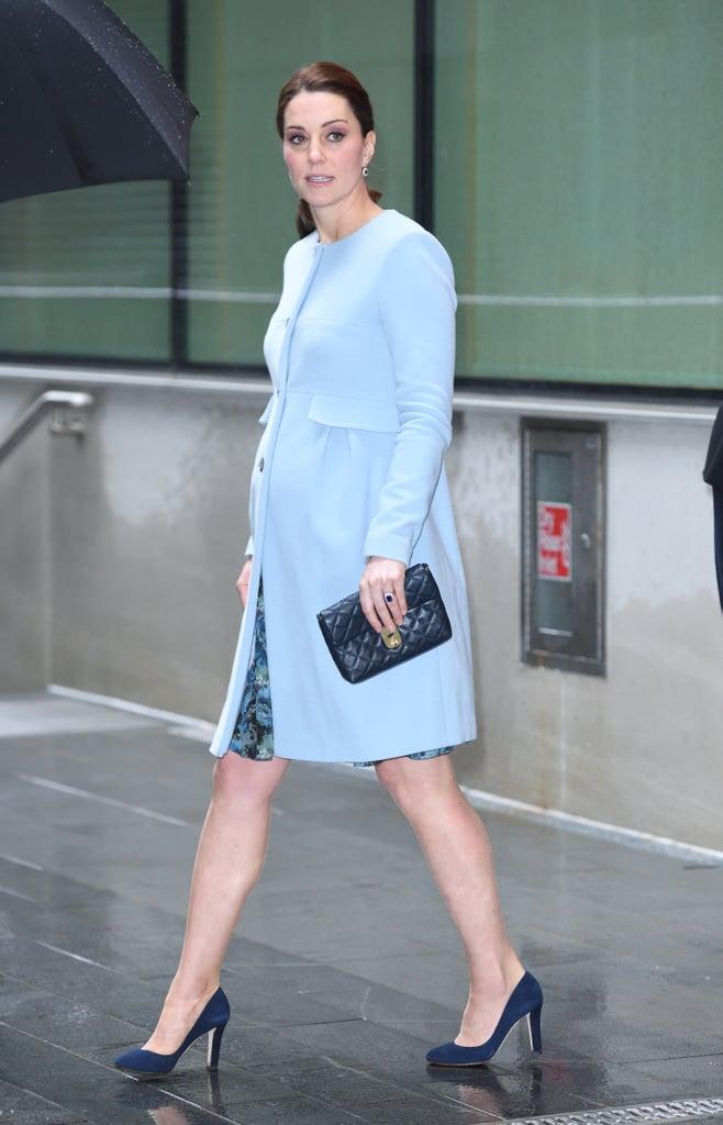 Кейт Миддлтон идёт голубой цвет: самые запоминающиеся образы герцогини