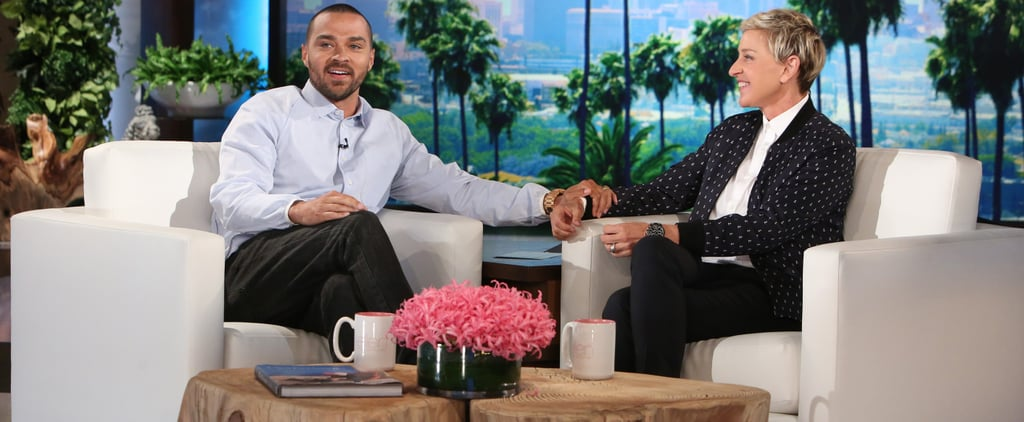 Justin Timberlake Causes a Hilarious Fight Between Jesse Williams and Ellen DeGeneres