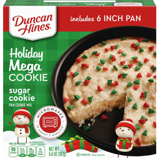 Duncan Hines's Holiday Mega Cookie Comes in 5 Flavors