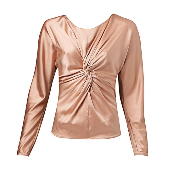 Long Sleeve Front Knot Blouse, $129.95 from Witchery