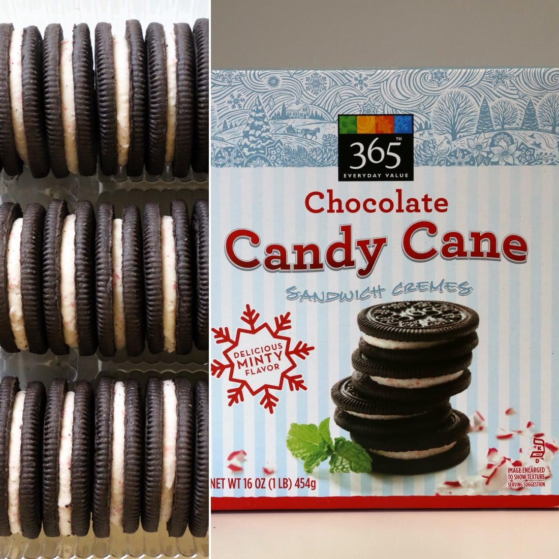 365 Chocolate Candy Cane Sandwich Cremes