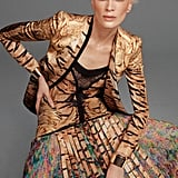 Tiger-infused prints are a recurring theme in Roberto Cavalli's Spring line. Source: Fashion Gone Rogue