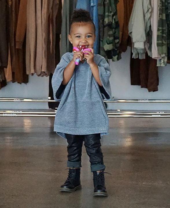 Kardashian Jenner Family Wearing Leather Pants