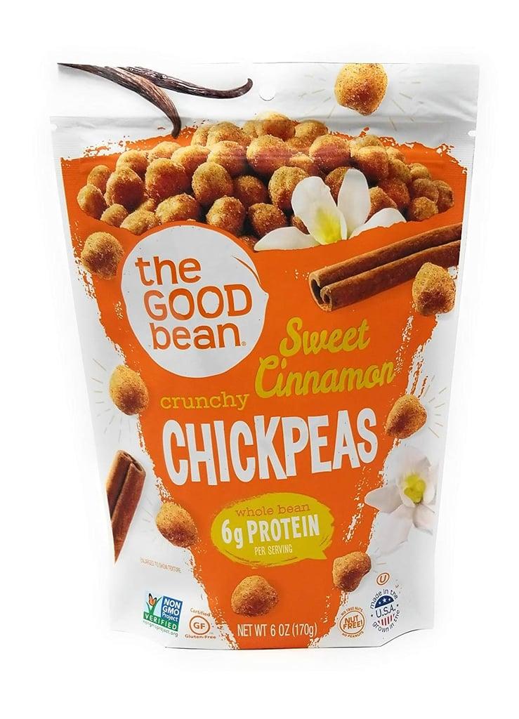 The Good Bean Sweet Cinnamon Chickpea Snacks