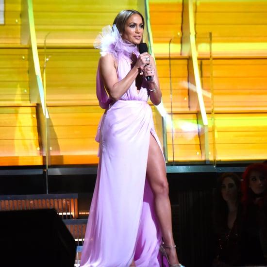 Jennifer Lopez Quoting Toni Morrison at the 2017 Grammys