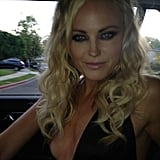 Malin Akerman snapped a photo while en route to the Spike TV Guys' Choice Awards. Source: Twitter user MalinAkerman