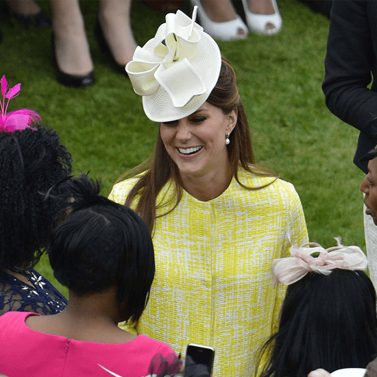 Kate Middleton at Garden Party | Video