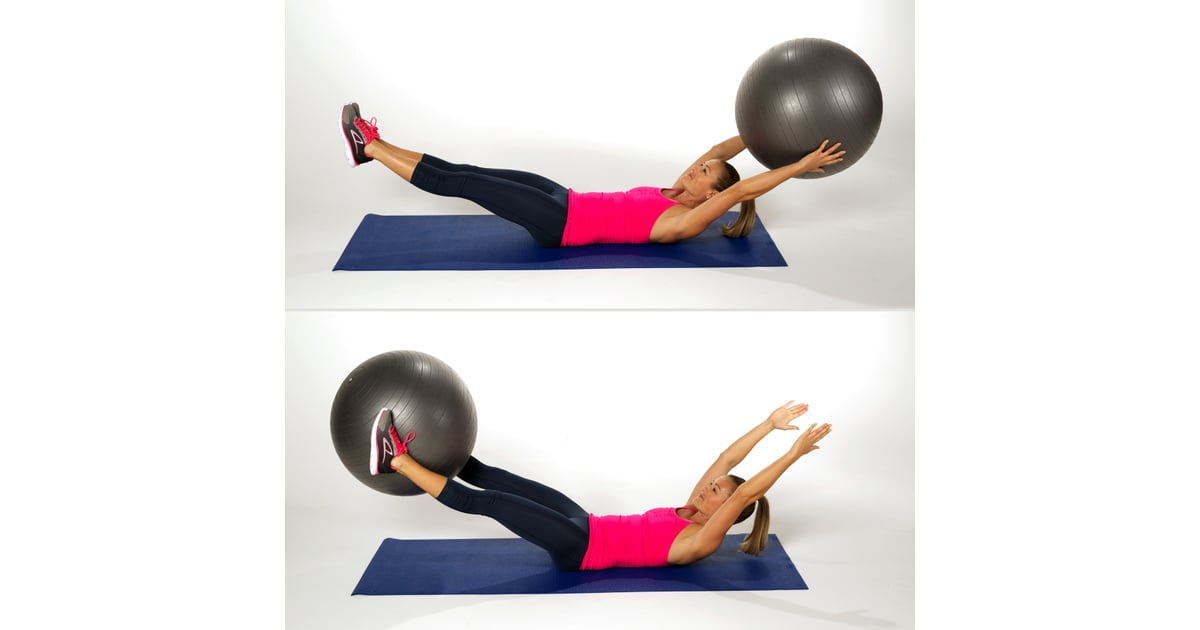 Ball Pass Tone Your Abs Without Crunches Popsugar