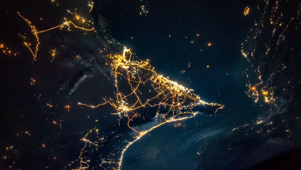 Pictures: Dubai and Abu Dhabi From Outer Space