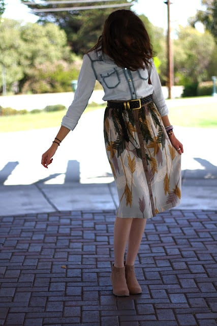 Congrats, Postgradchic! You know how to rock a Western-inspired outfit.
