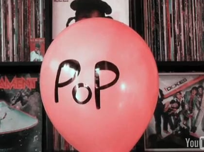 Pop Music Video Made by Popping Balloons