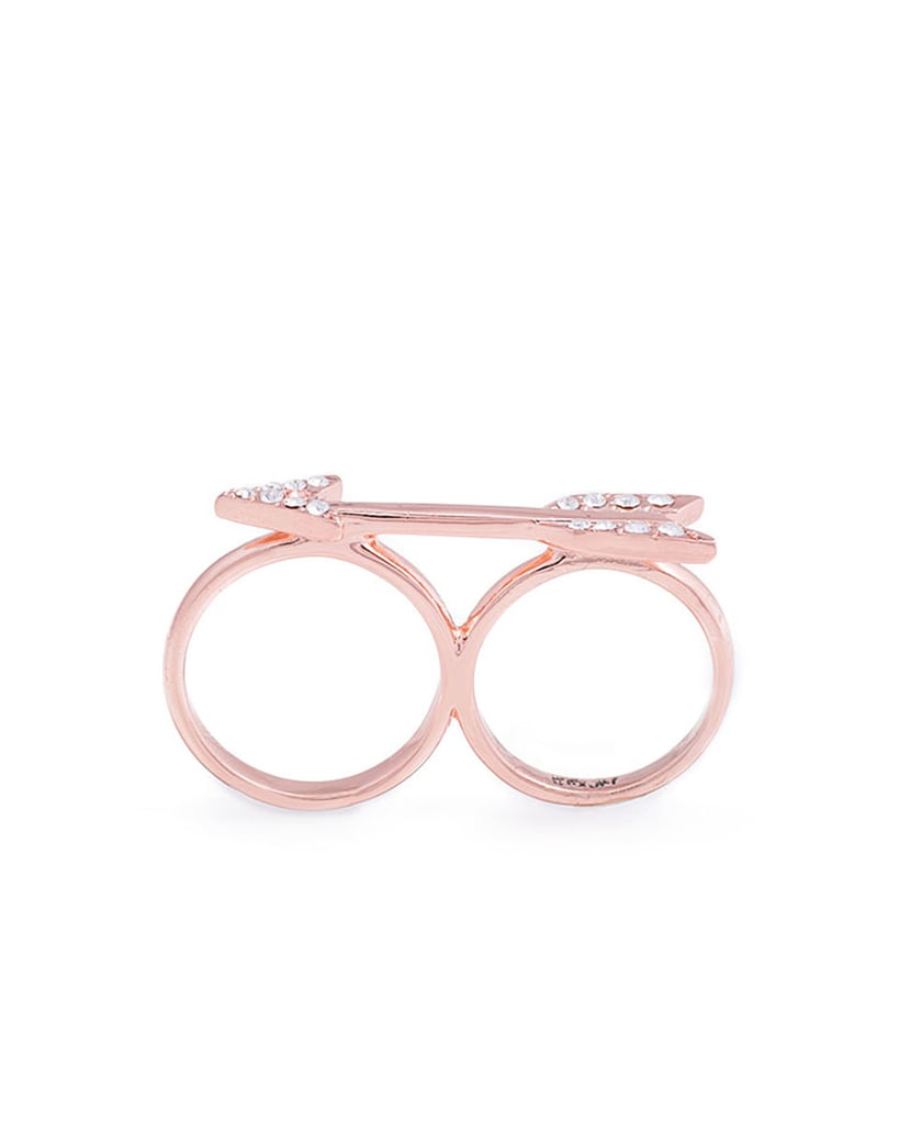 Erin Fetherston for JewelMint Double Knuckle Arrow Ring ($30)
