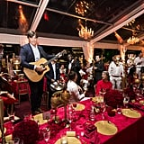 Guests Enjoyed Live Performances During the Welcome Dinner
