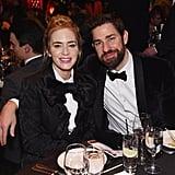 Emily Blunt and John Krasinski in Matching Tuxedos 2019