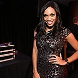 Actress Rosario Dawson attended a number of inaugural events this past weekend including the Hip-Hop Inaugural Ball.