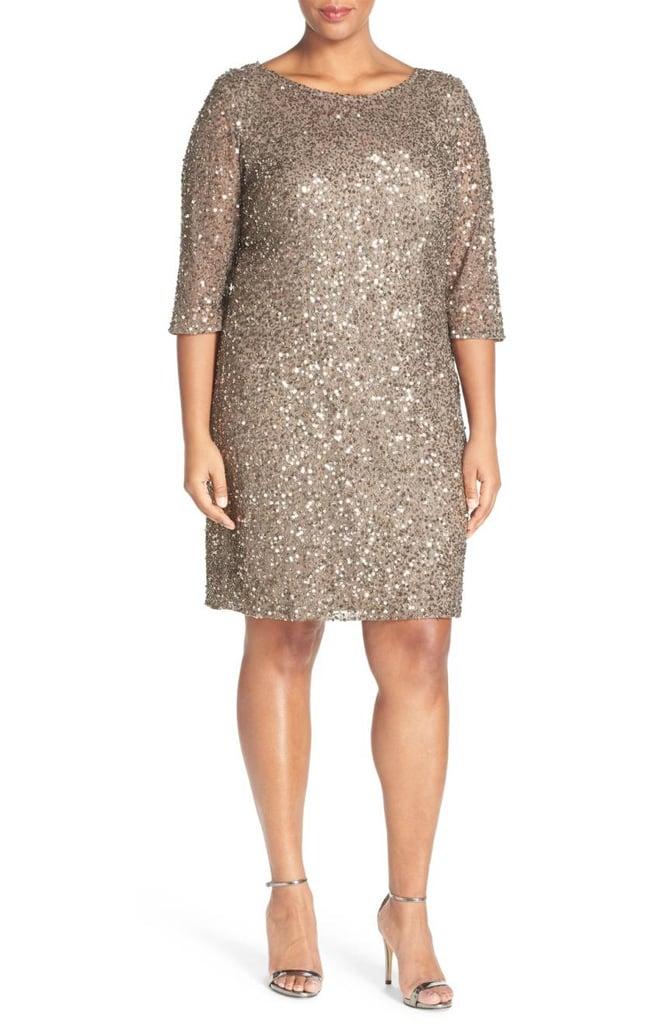 Pisarro Nights Beaded Dress Plus Size Holiday Dresses Popsugar
