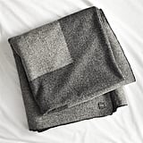 CB2 Faribault Plus King Blanket ($219)