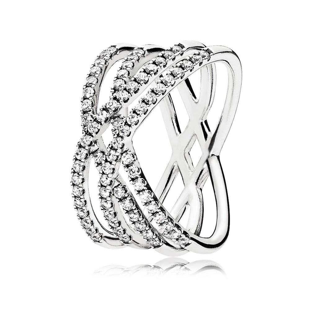 Cosmic Lines Ring, $129.