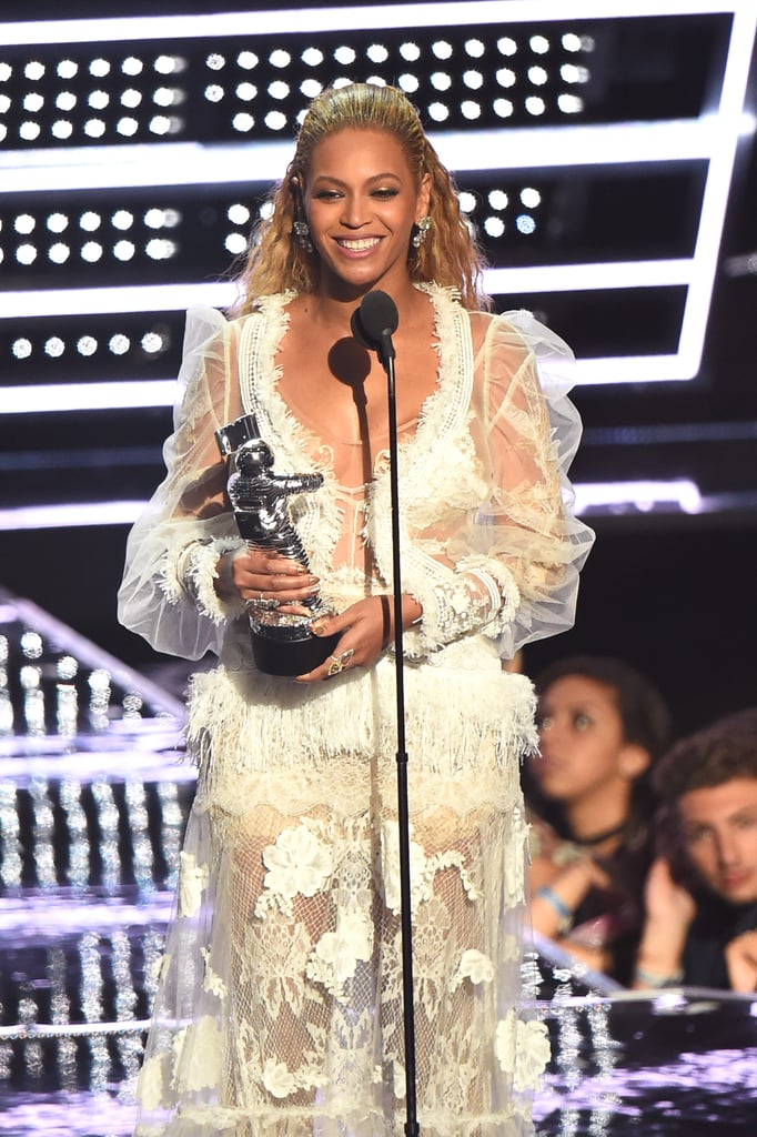 """2016: Beyoncé took home three Moonmen, including Video of the Year for """"Formation."""""""
