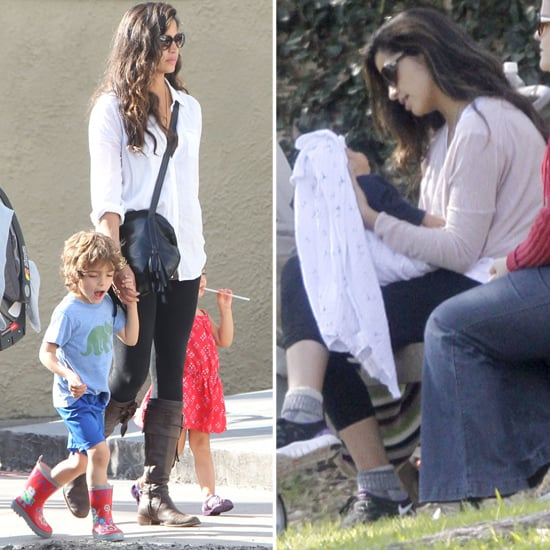 Camila Alves With Baby Livingston In Louisiana Pictures Popsugar