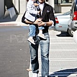 Gabriel Aubry and Nahla Are All Smiles on a Daddy-Daughter Outing