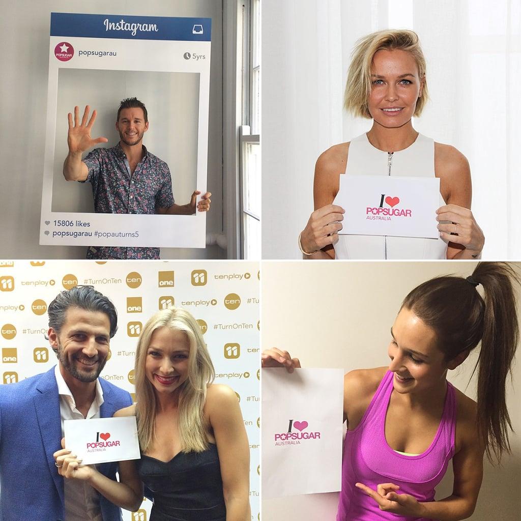 Celebrities Who Love POPSUGAR Australia