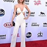 Taylor Swift's jumpsuit, like many other outfits that night, was actually Balmain.