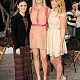 Lauren Conrad, Rachel Bilson, and Amy Nadine celebrated ShoeMint's first anniversary together.